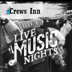 Crews Inn Harrison Township Live Music Event Banner